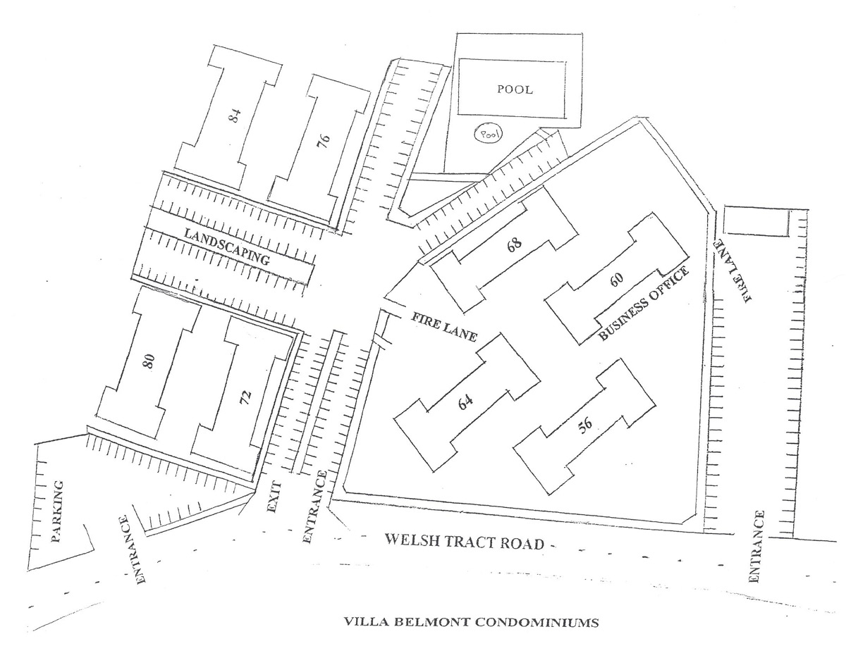 Villa Belmont Property Map